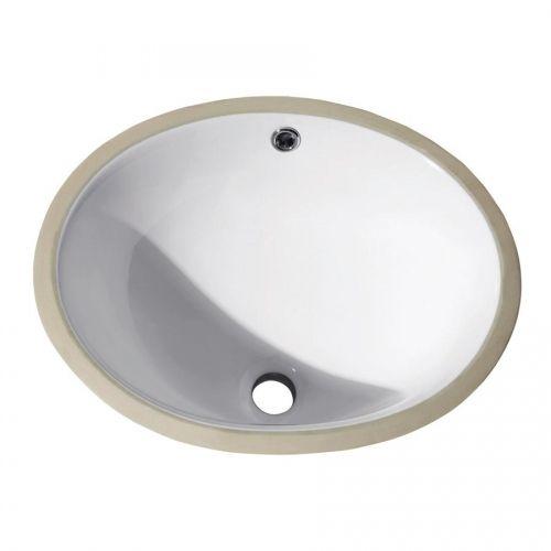 "18"" x 15"" Oval Undermount Bathroom Sink - White (#CUM18WT)  by Avanity $56.00"