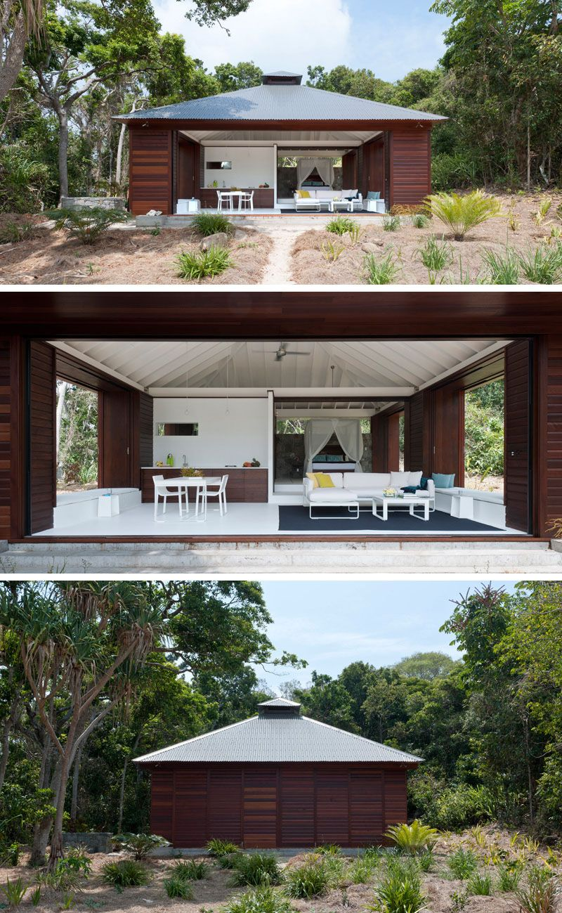 14 Examples Of Modern Beach Houses From Around The World Modern Beach House Tiny Beach House Small Beach Houses