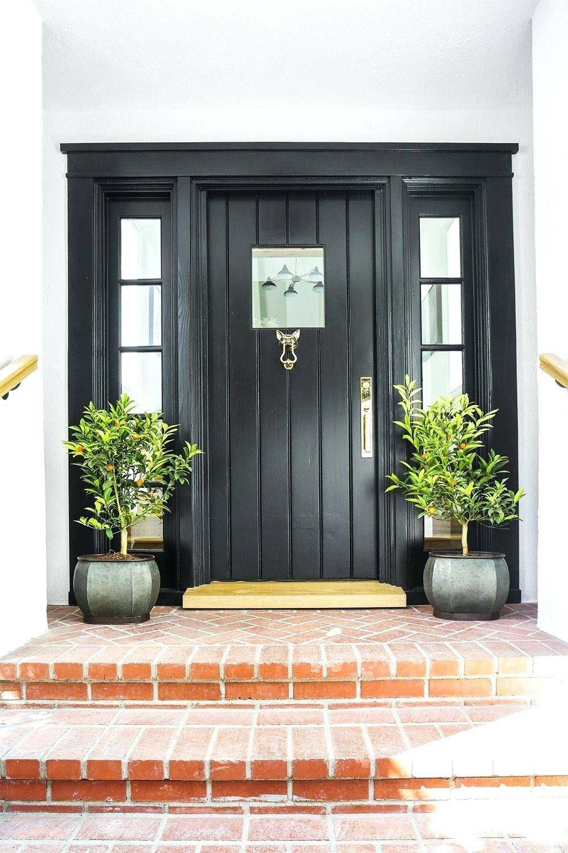 13 Beautiful Front Door Ideas To Make Great First Impressions In 2020 Best Front Door Colors Front Porch Plants Best Front Doors