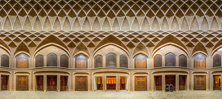 IRAN,Yazd - Dolat Abad Garden