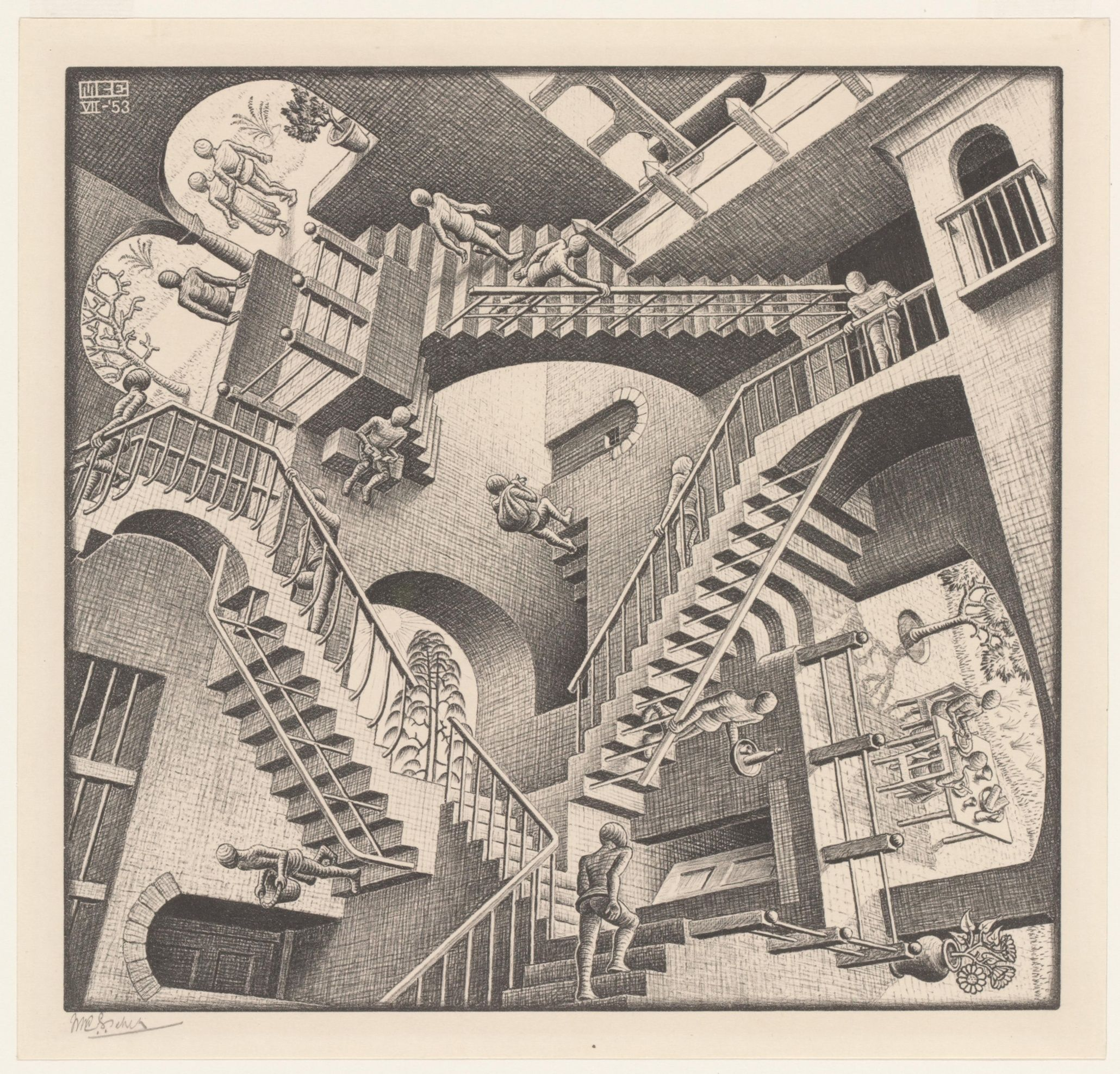 Twisted logic: the enigmatic world of MC Escher – in pictures