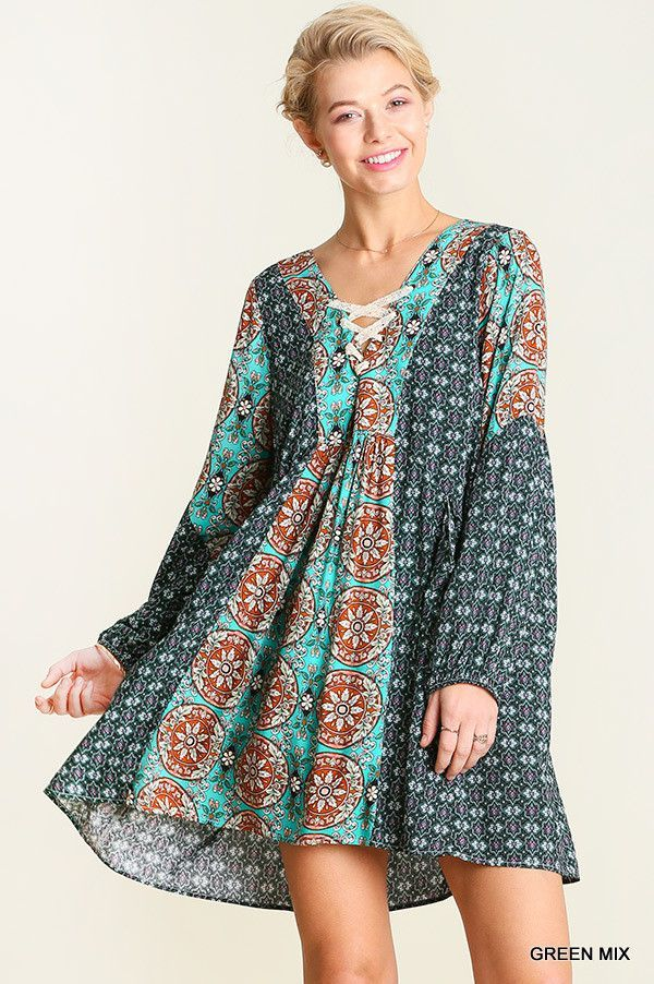 Colby Peasant Dress