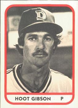 1981 Tcma Durham Bulls 19 Hoot Gibson Front 1981 Baseball Cards