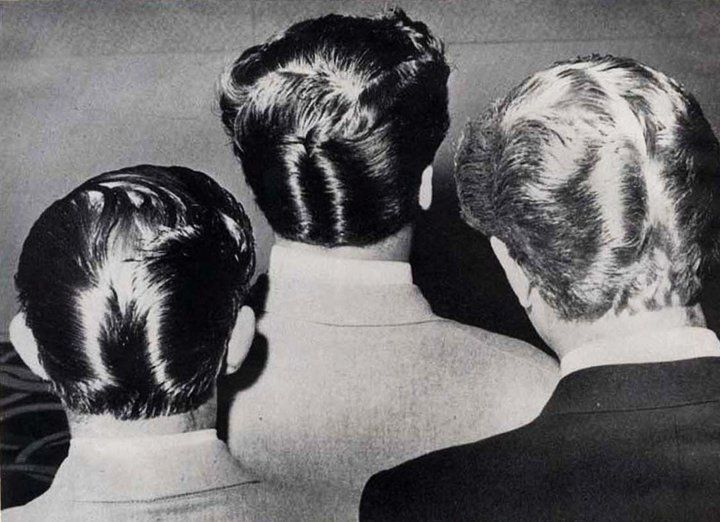 Ducktail Ducktail Ducktail Haircut Vintage Hairstyles