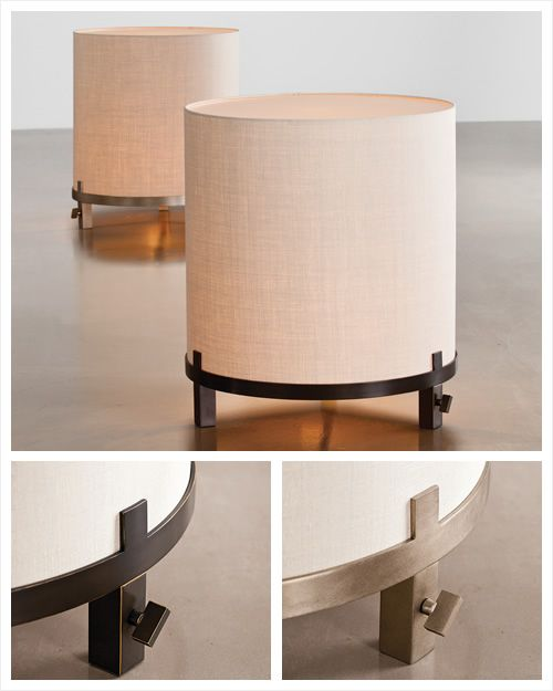 Sutherland Furniture. Big Drum Lamp. Terry Hunziker Design.