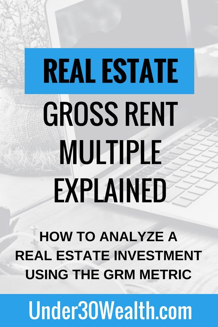 Real Estate Investment Analysis The Gross Rent Multiplier  Real