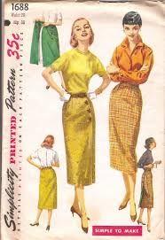 Image result for vintage sewing patterns