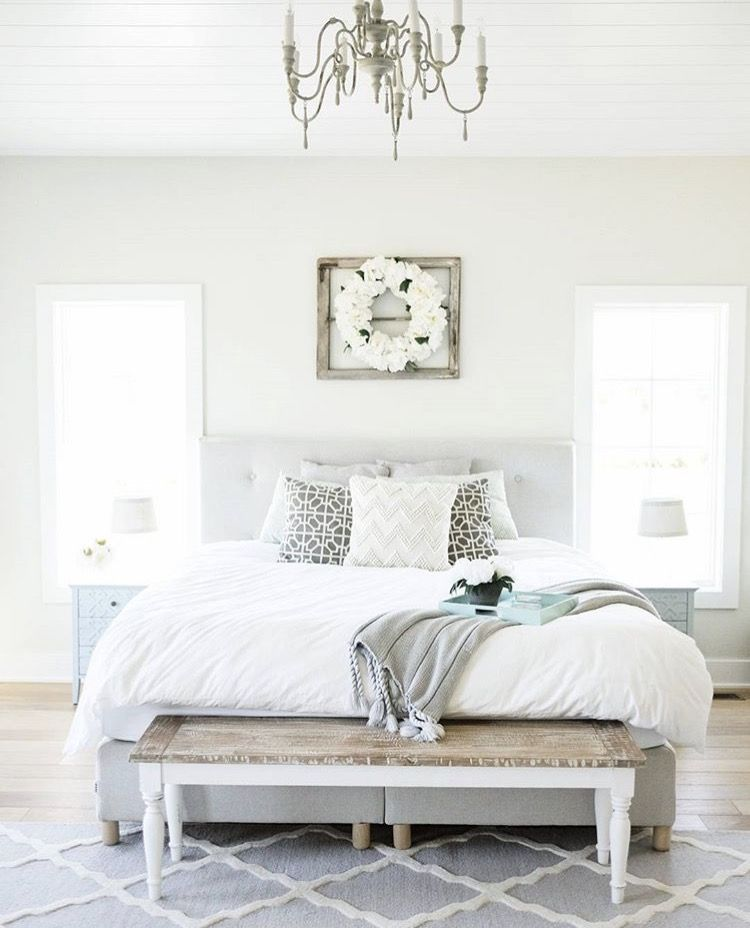 Clean Bedrooms Delectable Simple Crisp And Clean Bedroom Style Bedroom Bliss  Pinterest Decorating Design