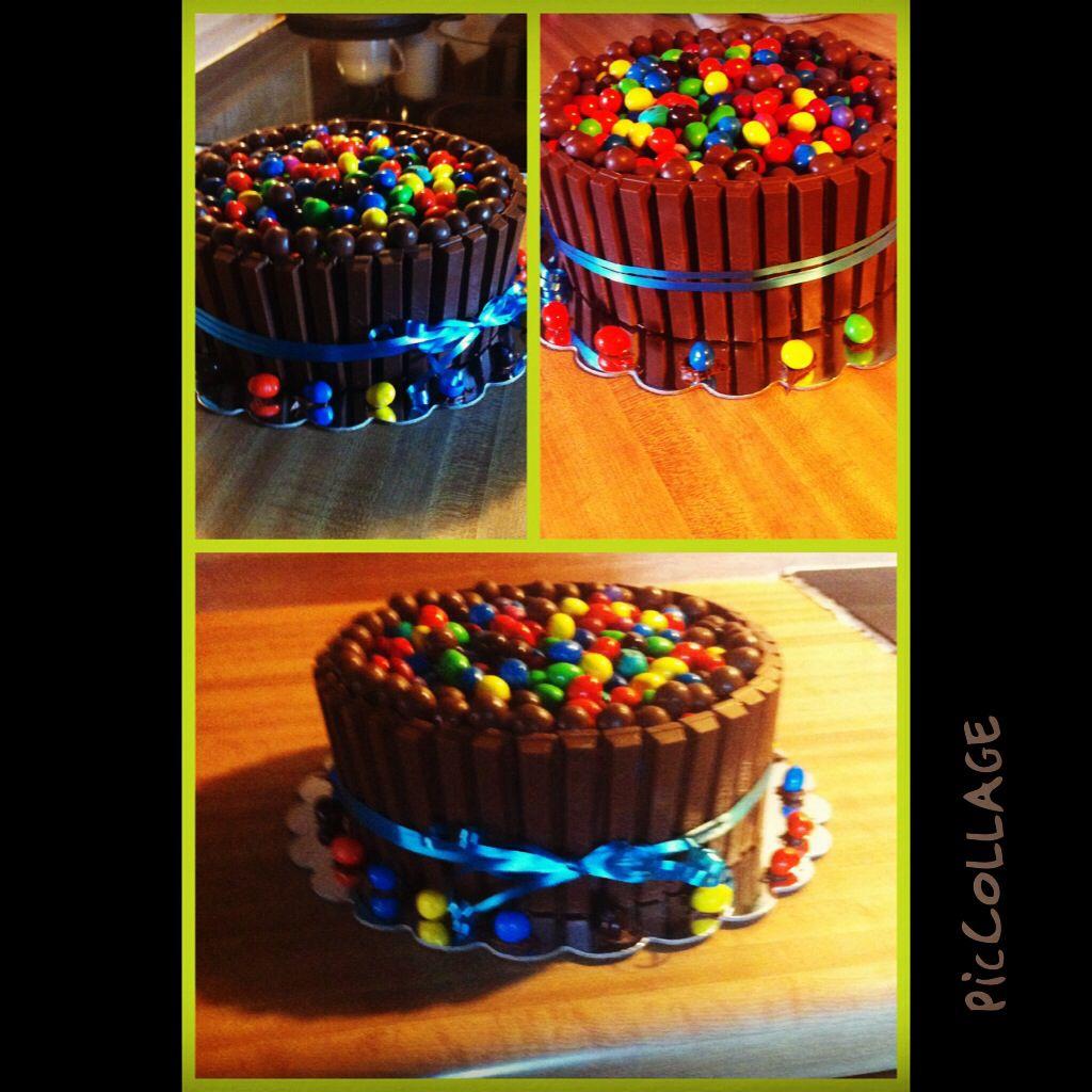 My candy cake!!! I had fun making this!!!
