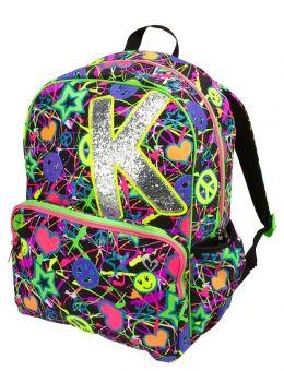 Glitter Graffiti Initial Backpack  c9f734add5597