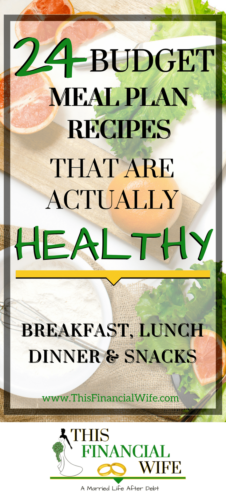 24 Budget Meal Plan Recipes That Are Actually Healthy images