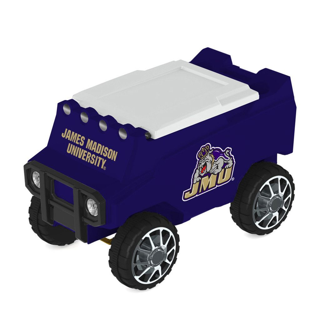 James Madison Dukes Remote Control Cooler w/ MP3 Player