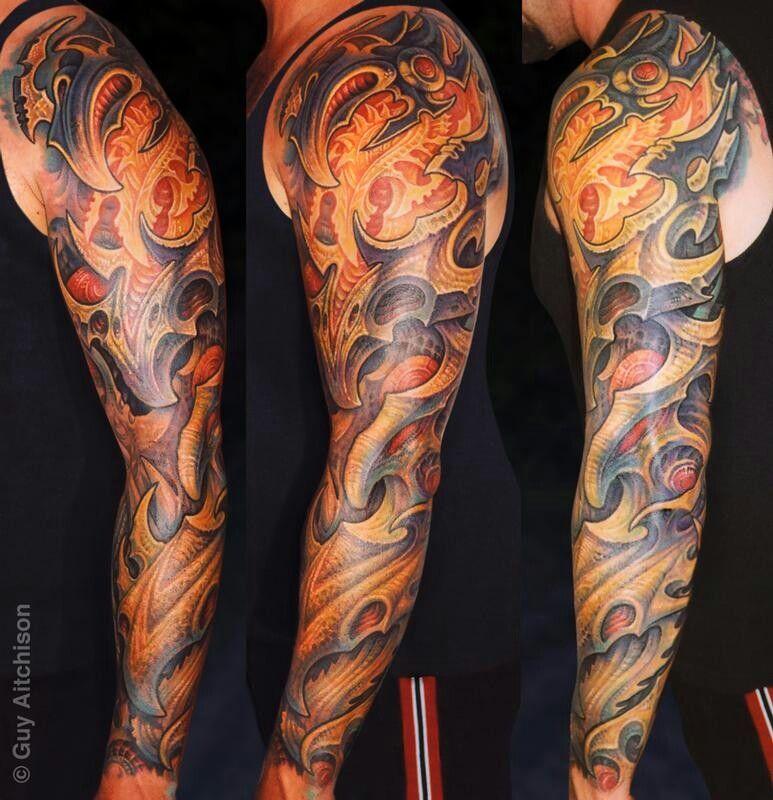 Pin by Evan bowman on Sweet tats Arm sleeve tattoos, Bio