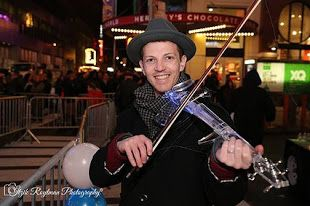 Electric violinist nyc LG Sprint Performance Featuring Asher Laub http://www.asherlaub.com