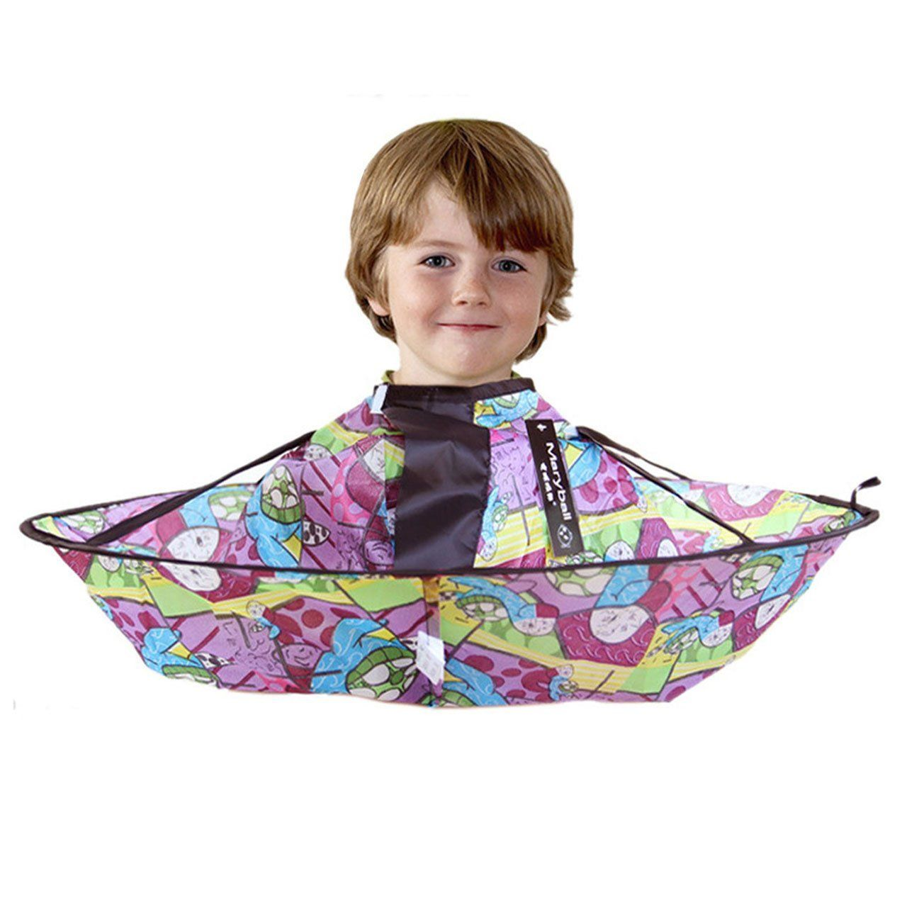 Ccbeauty Children Barber Cape For Kid Haircut Umbrella Catcher Hairdresser And A Waterproof 2