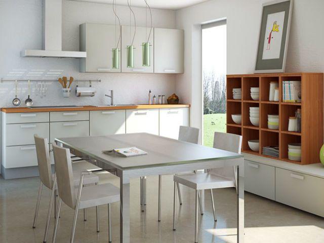 Genial küche mit esstisch Deutsche Deko Pinterest - kche mit esstisch
