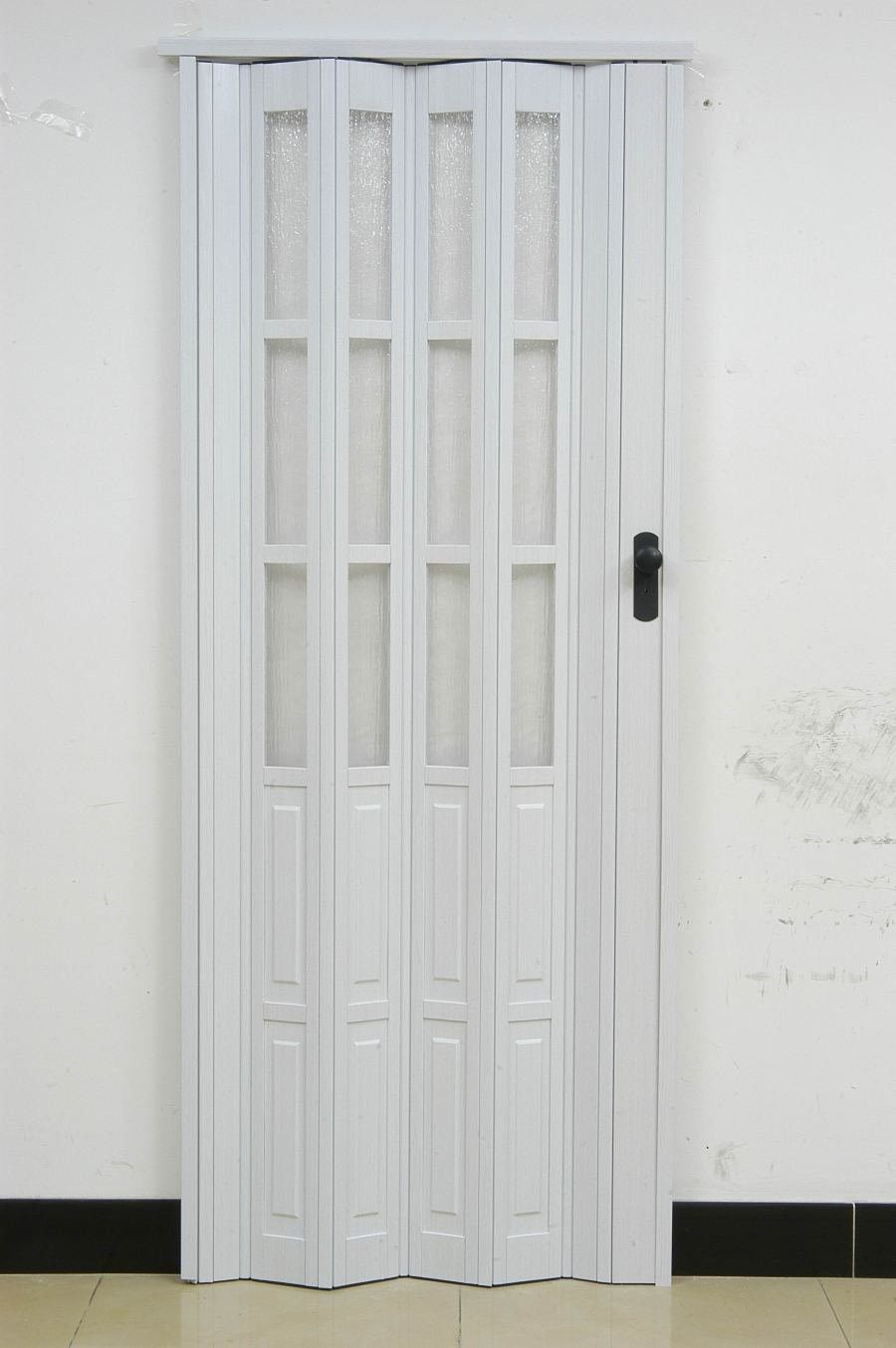 White Internal Bathroom Door In 2020 Accordion Doors Accordion