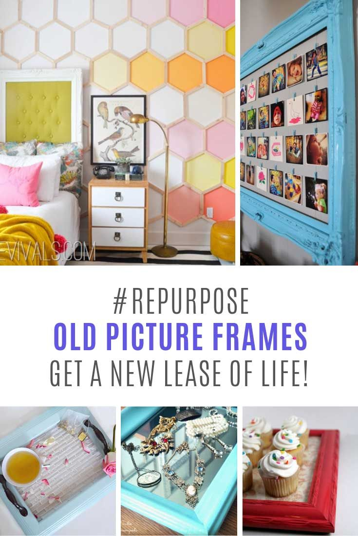 Info's : So many ways to repurpose old picture frames - I'm off to the flea market!