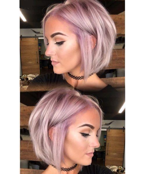 Pink Hair! - Korte Kapsels