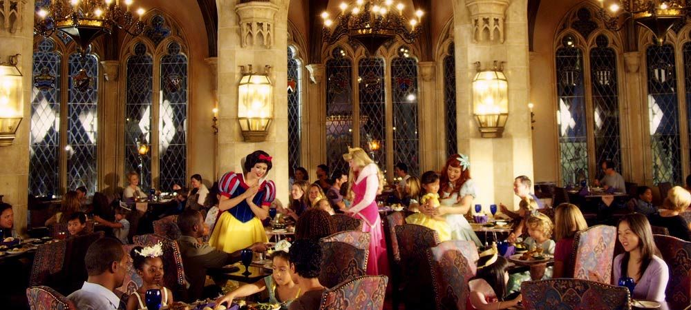 Cinderella S Royal Table Very Hard To Get Reservations Must Book