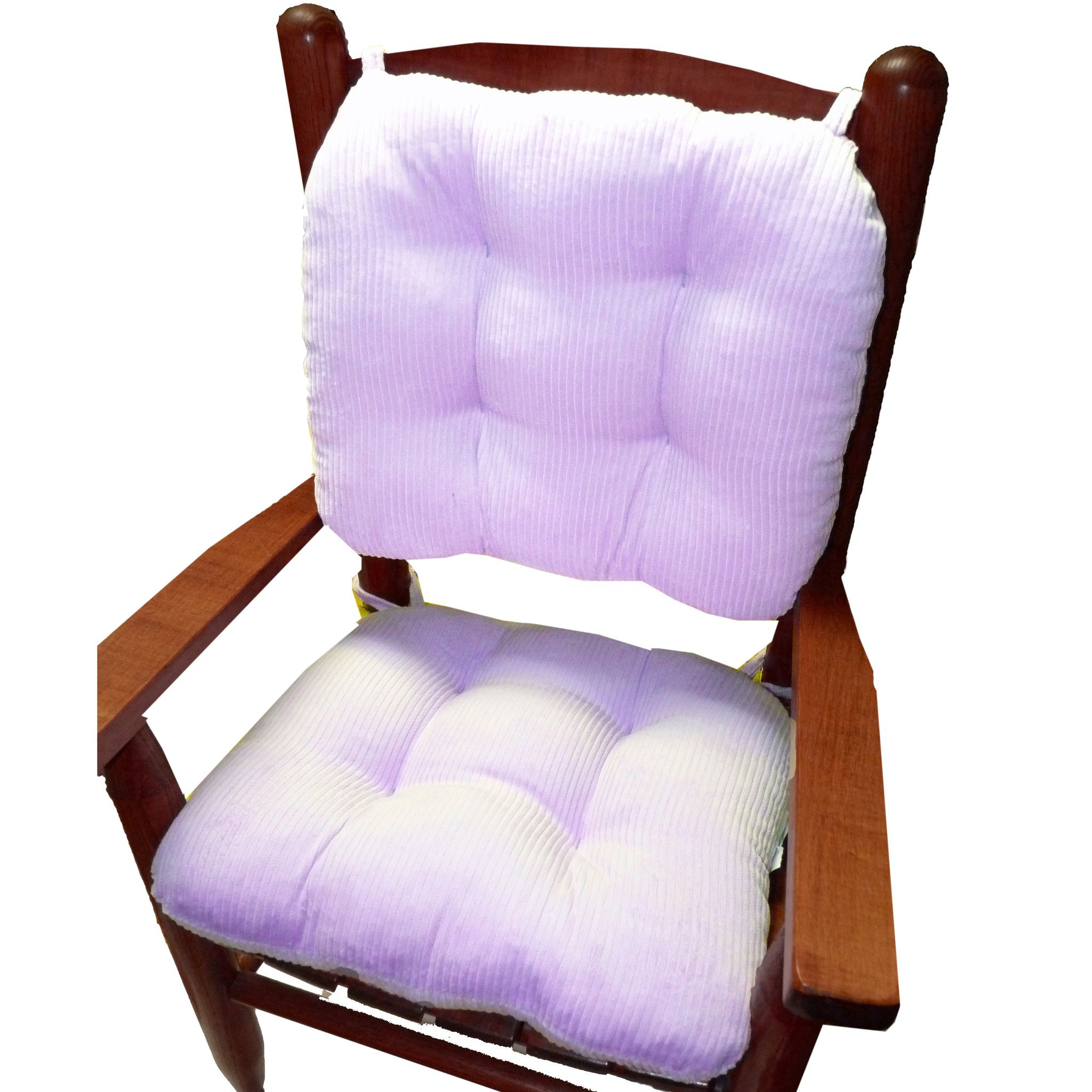 child rocking chair cushions lavender corduroy made in usa