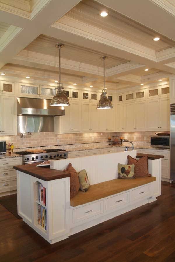 19 Mustsee Practical Kitchen Island Designs With Seating  Island Custom Kitchen Island Design With Seating Decorating Inspiration