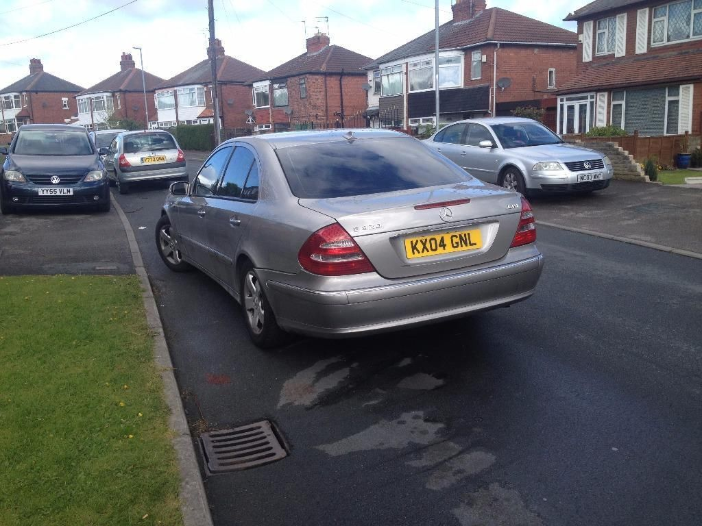 Mercedes E320 Taxed Tested Px Welcome Top Off The Range Dvd Satnav
