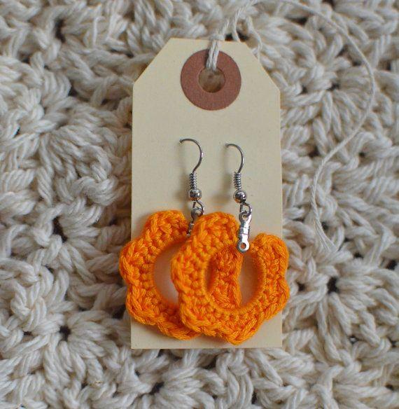 Crochet Earrings....etsy sellers got some awesome ideas ...