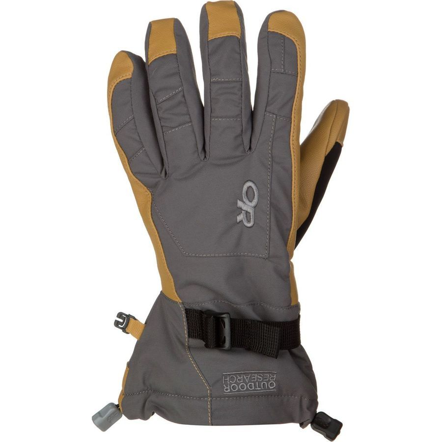 ■ Outdoor Research - Revolution Glove - Men's - Charcoal/Natural ☆☆☆☆