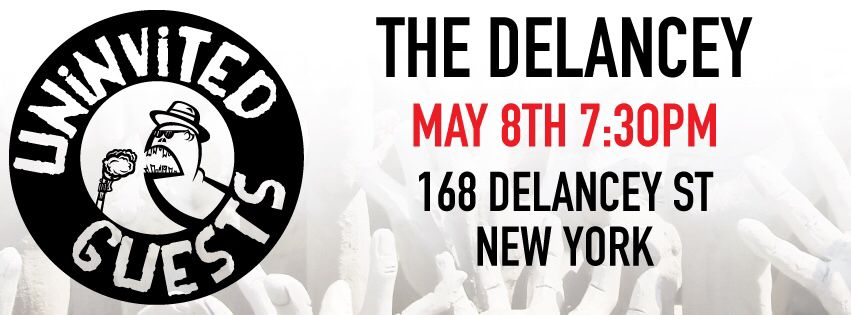 May 8th we blast the Delancey with Frank Wood. 7:30pm show. Sign up for a free copy of our upcoming album.