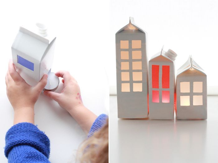 bookhoucraftprojects: Project #148: Milk Light House