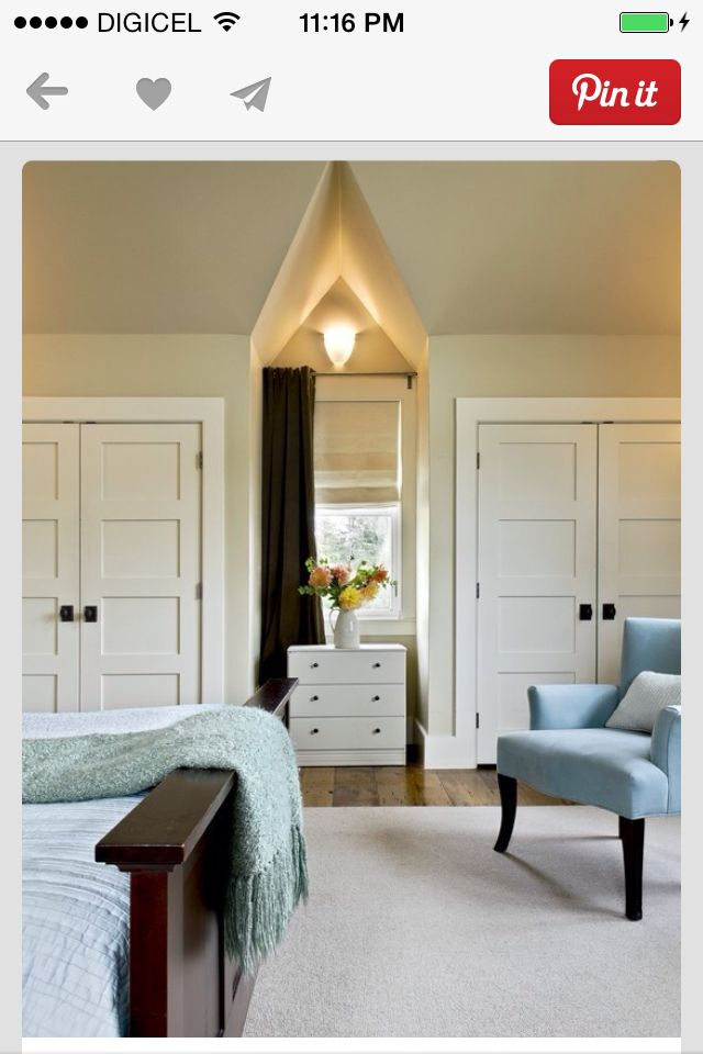 Lake House   Rustic   Bedroom   Burlington   Smith U0026 Vansant Architects PC  Each Closet Door Is   Wide By   Tall And The Trim Is 4 Side Casings With 5  Head ...