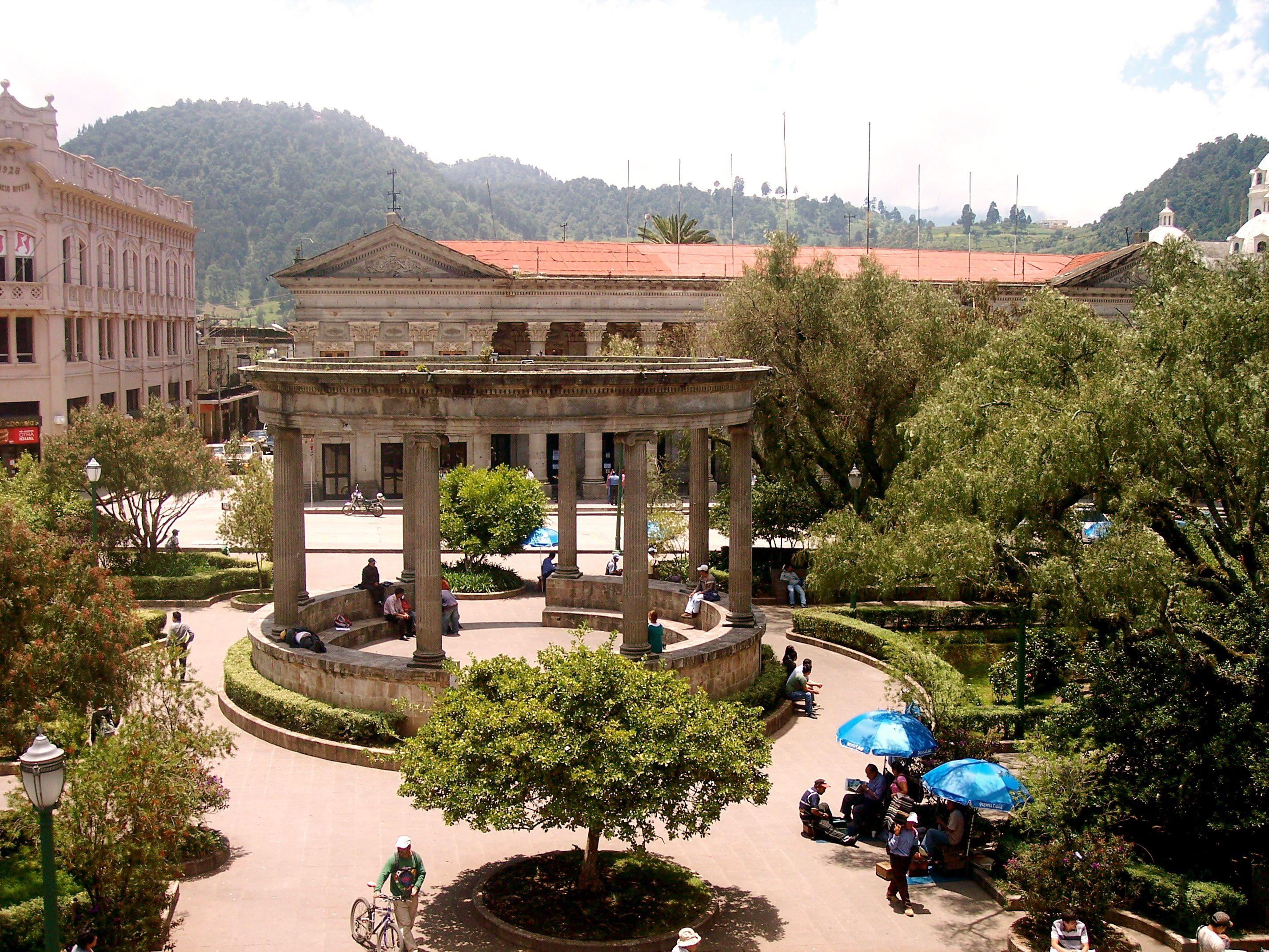Parque Central; Quetzaltenango, Guatemala   Guatemala city, Guatemala, Global travel