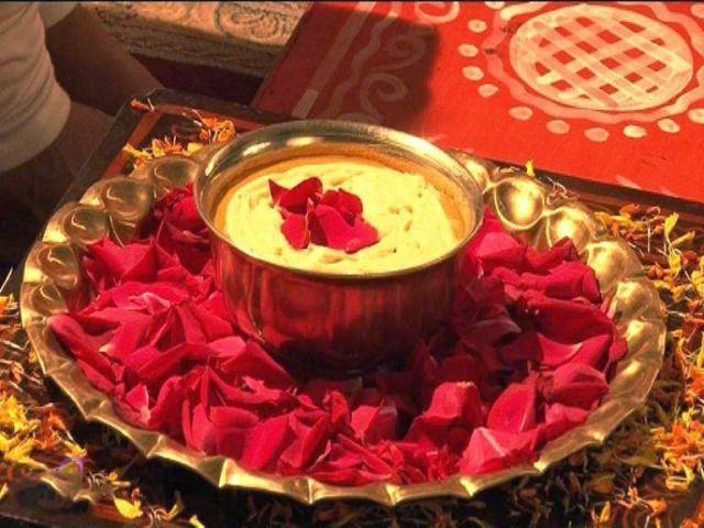 Haldi Rasam | Desi wedding decor, Indian wedding decorations ...