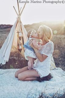Family Pictures Bohemian Style Seriously How Cute Would