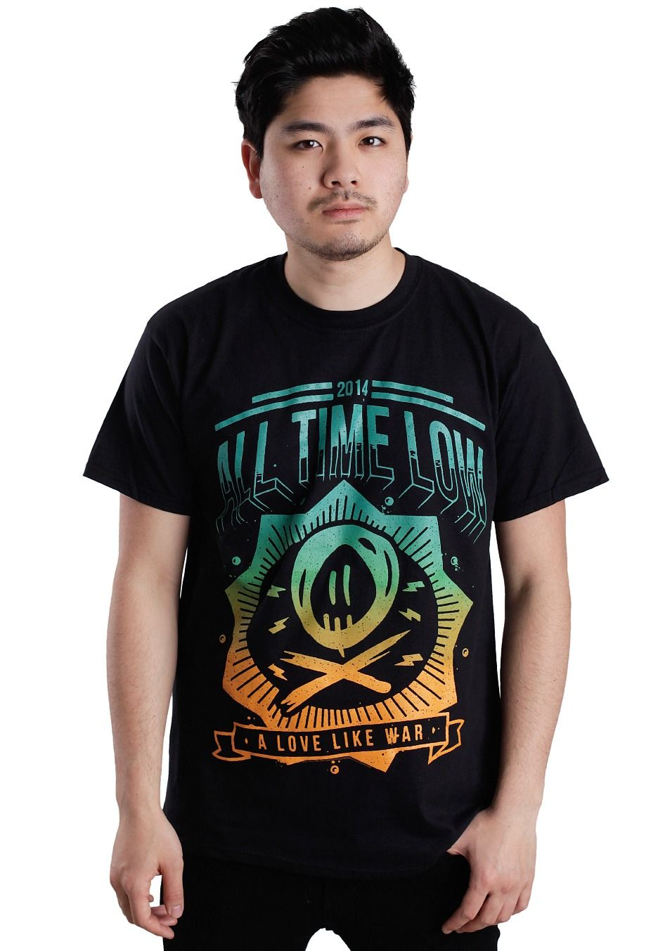 All time low new wave tshirt all time low