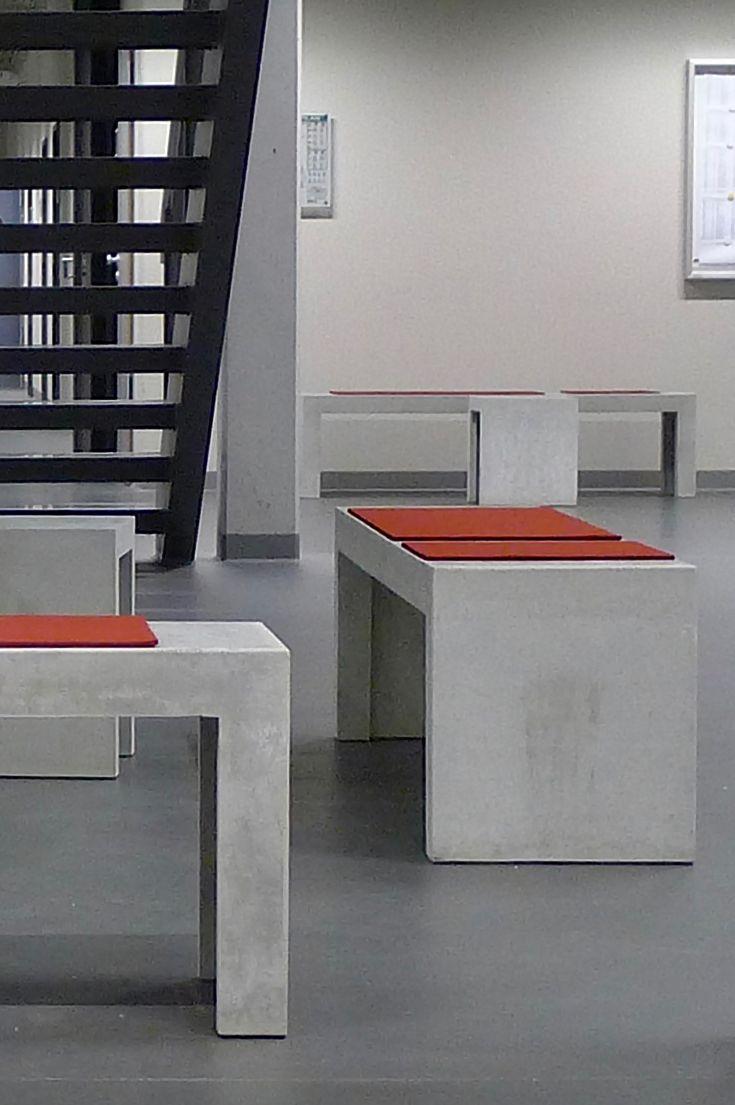Beton Bank Hocker Concrebench Betonbank Hocker Und Design