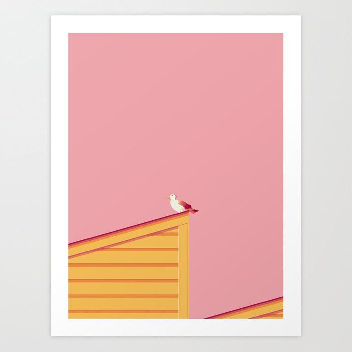 Seagull II Art Print