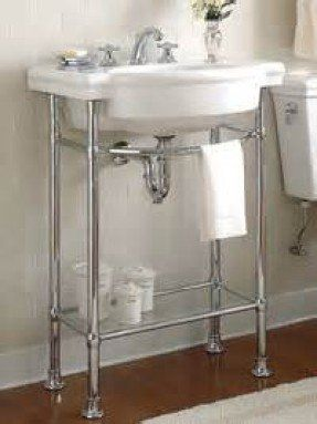 Small Bathroom Vanities And Sinks With Metal Legs Yahoo Image Search Results Bathroom Console Console Sink Console Sinks