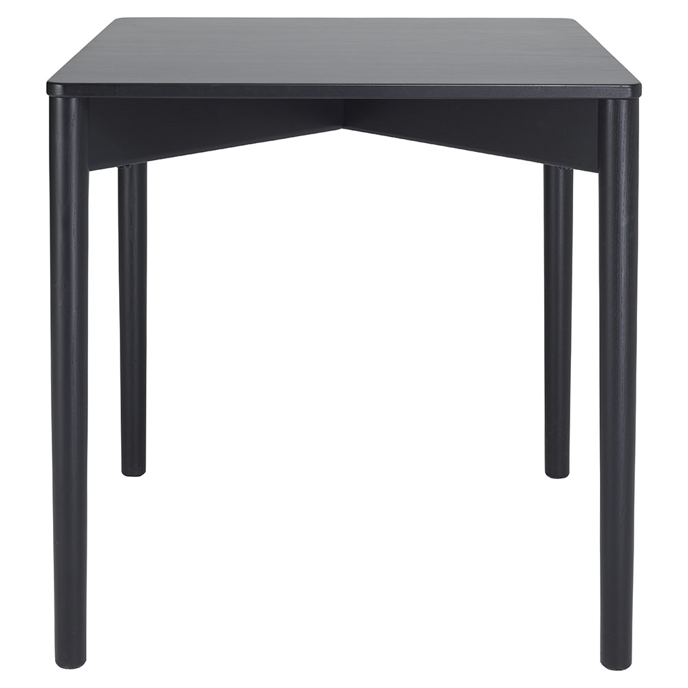 Luca Square Dining Table Black Rouse Home Square Dining