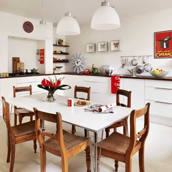 White and primary colours kitchen - http://pinhome.net/kitchen ...