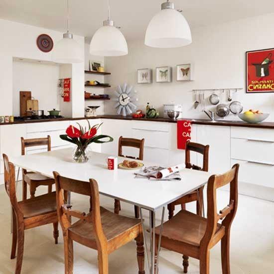 Küchen Küchenideen Küchengeräte Wohnideen Möbel Dekoration Decoration  Living Idea Interiors Home Kitchen   Weiß Und Primärfarben