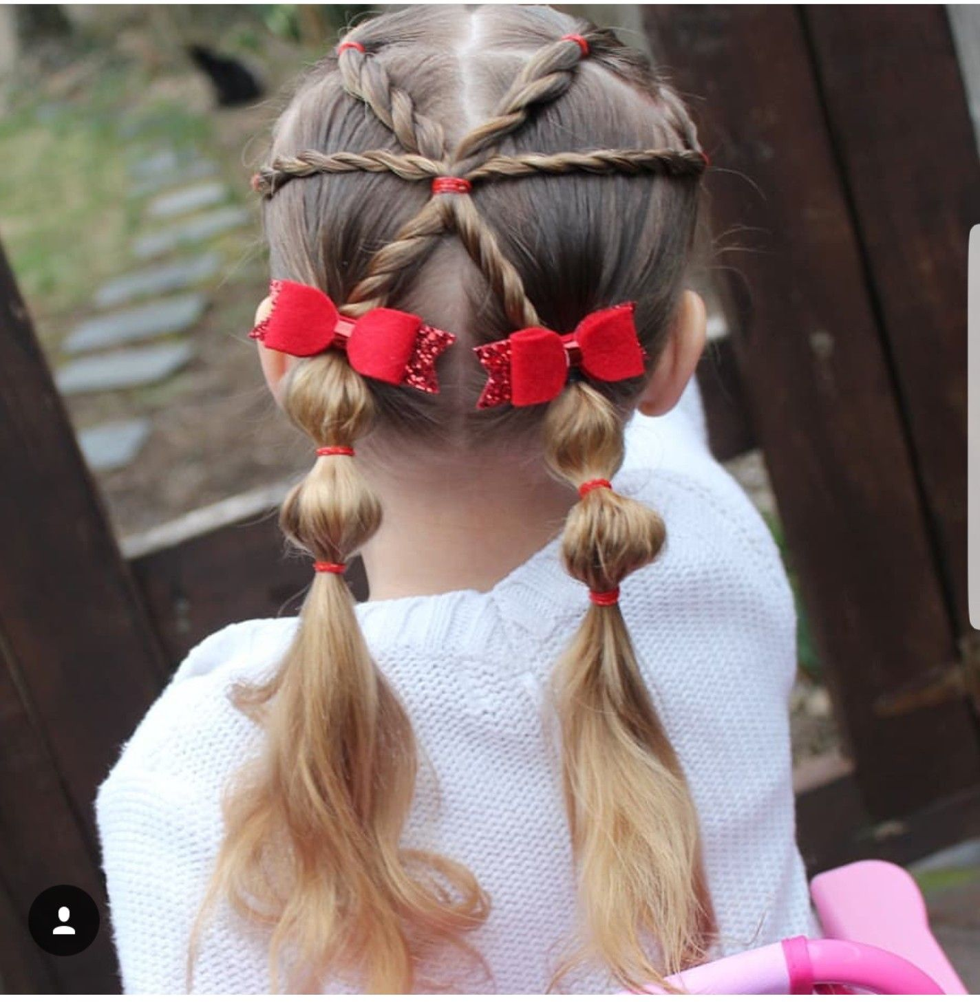 Girl hairstyles Coiffures filles, Coiffure fillette et