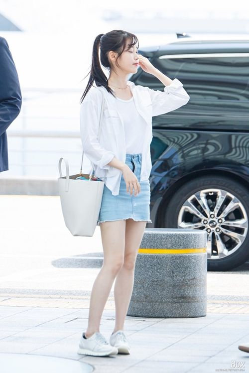 Iu Airport Fashion Official Korean Fashion K Style Pinterest Airport Fashion Korean