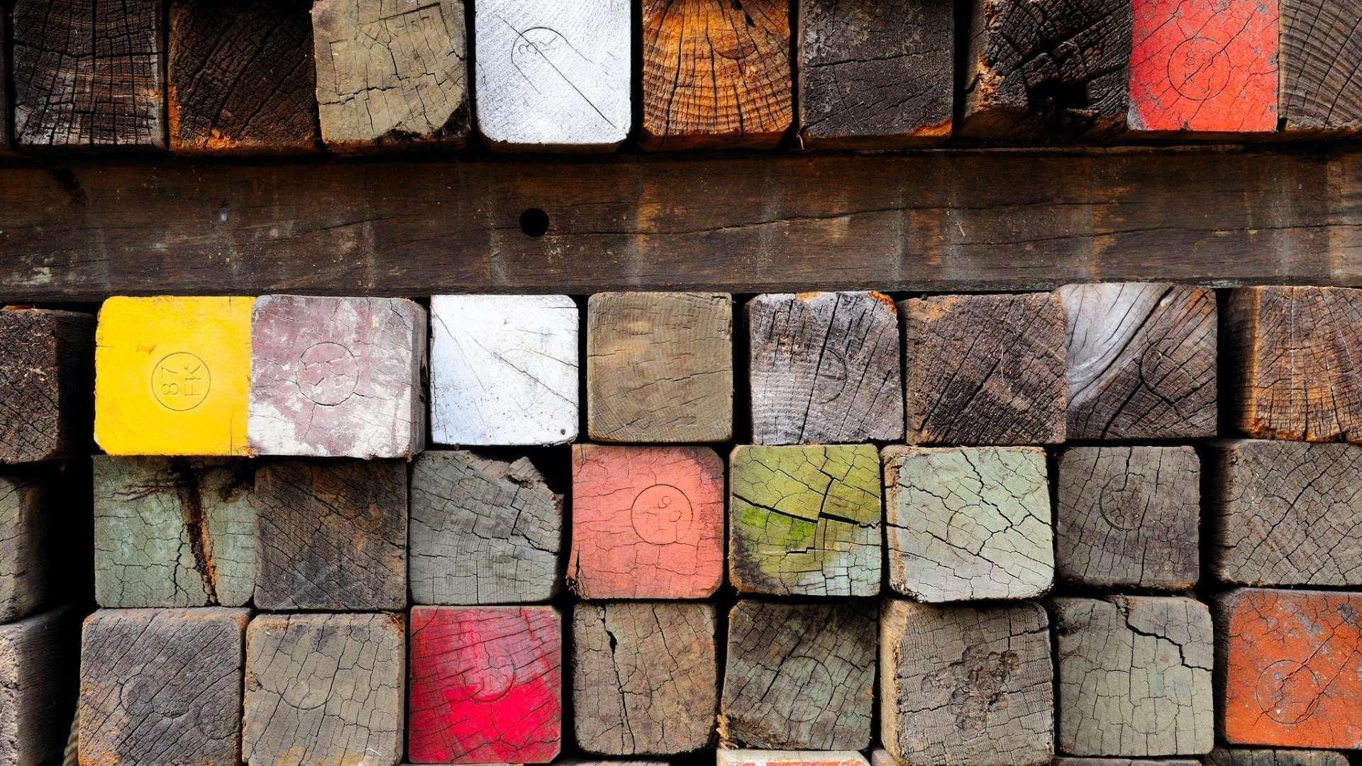 Wood Lumber Paint Many Hd Wallpaper 1080p