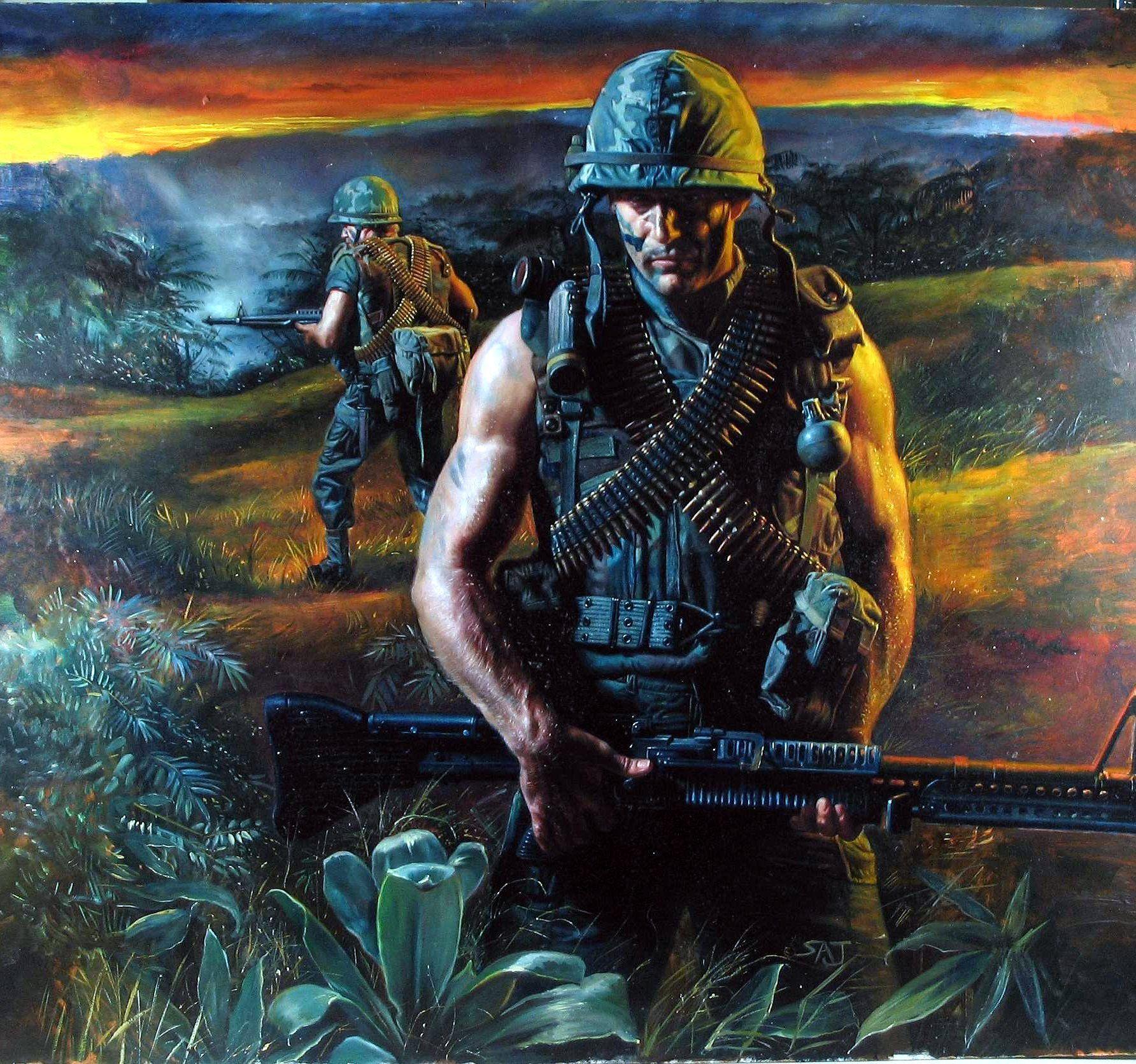 US Marines In Vietnam