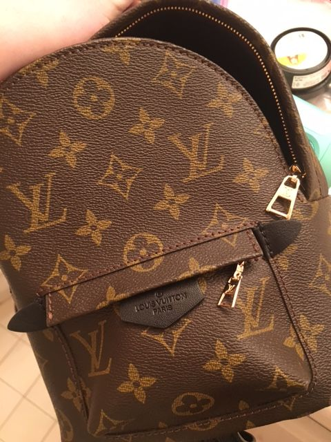 Replica Louis Vuitton Monogram Palm Springs Backpack Mini  031bea2c38a3c