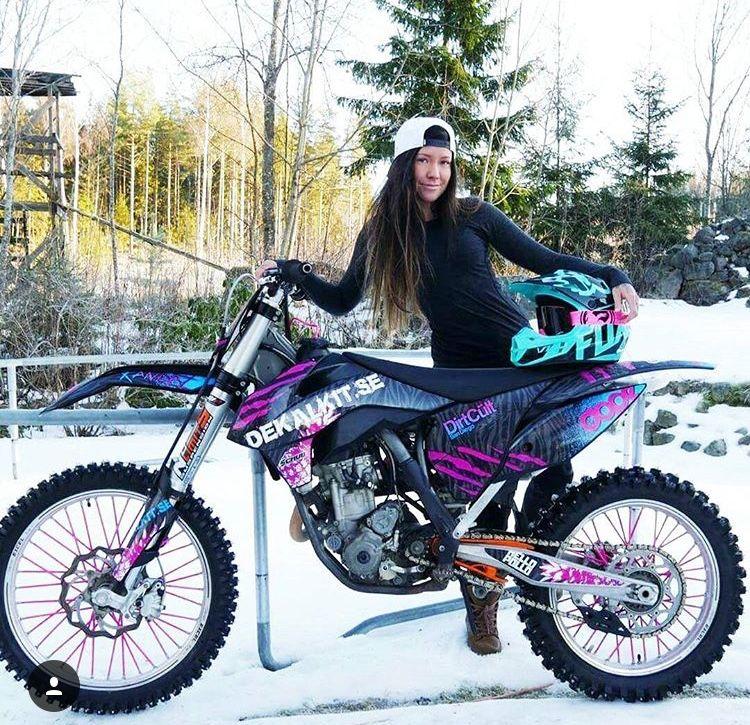 I Want This Bike Sooooo Bad Dirt Bike Girl Motocross Girls