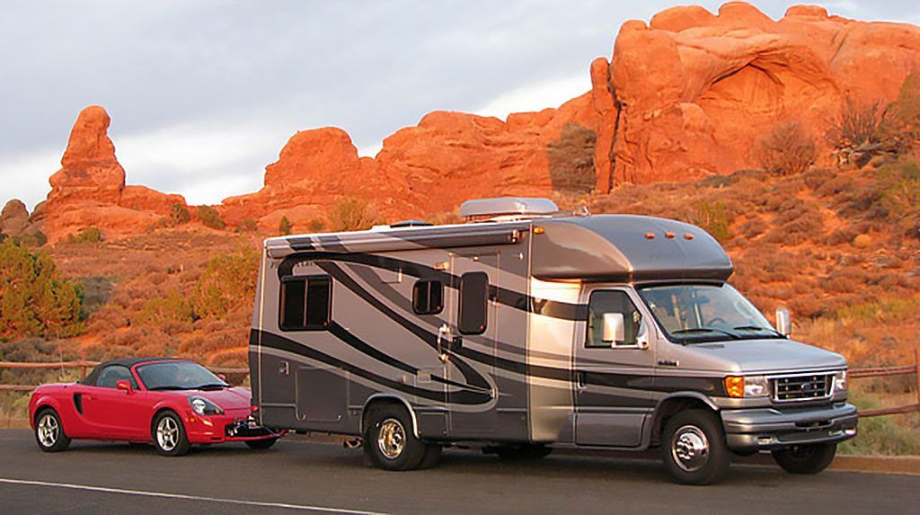 What Cars Can Be Flat Towed Behind an RV or Motorhome