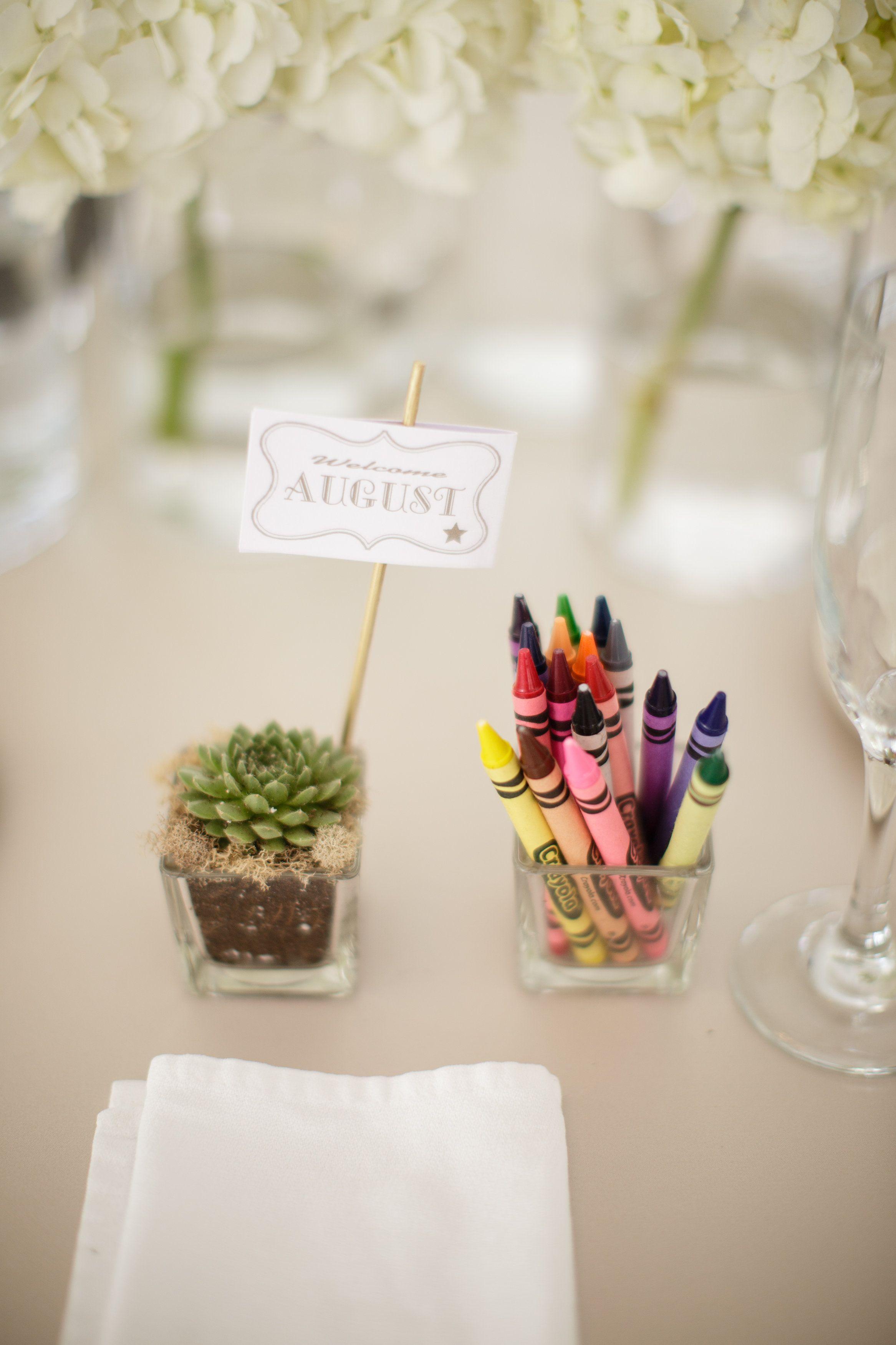 DIY wedding favor succulent place card - ring bearer | DIY Wedding ...